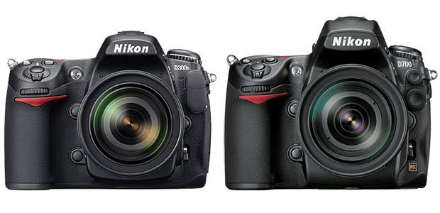 Nikon D700 and D300s