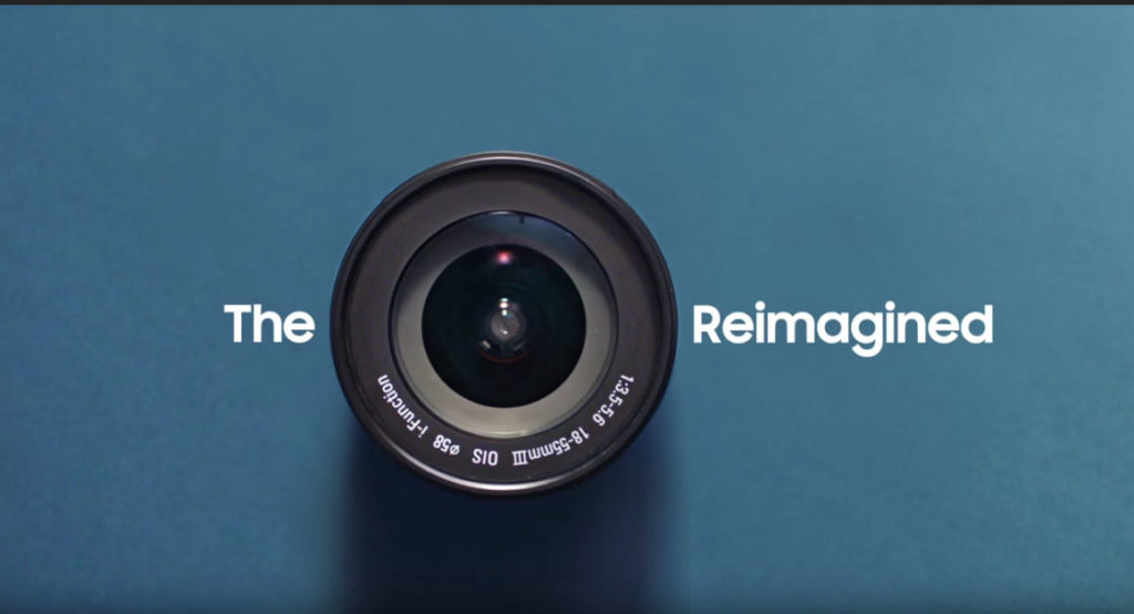 Camera-reimagined