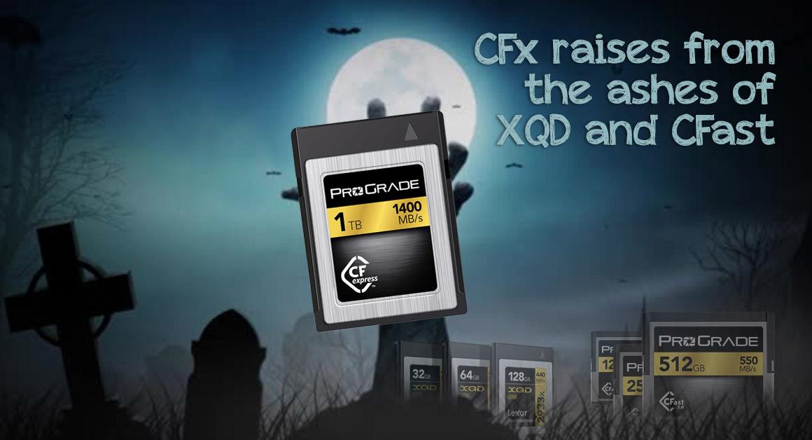 CFexpress card