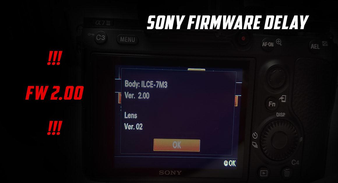 Sony firmware update v.2.00