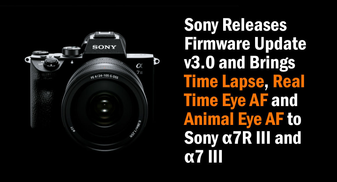 Sony firmware v3.0