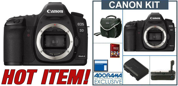Canon EOS-5D Mark II Digital SLR Camera Body Kit