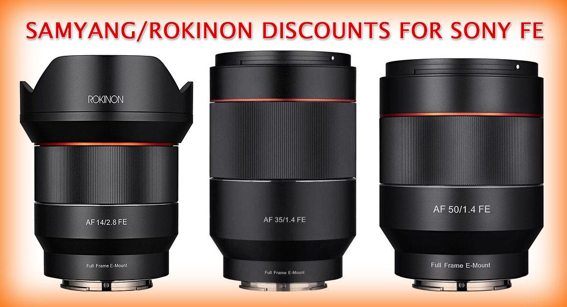 samyang-rokinon discounts