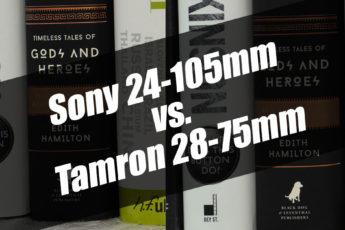 Sony 24-105 vs Tamron 28-75