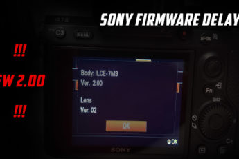Sony firmware update v.2.00