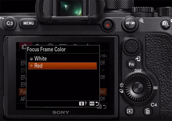 Focus Frame Color Change