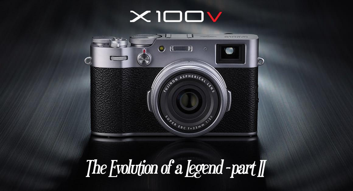 Fuji X100V - II